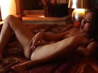 Enticing beamy dense oriental young whore Mila Jade in hot invective sex photograph